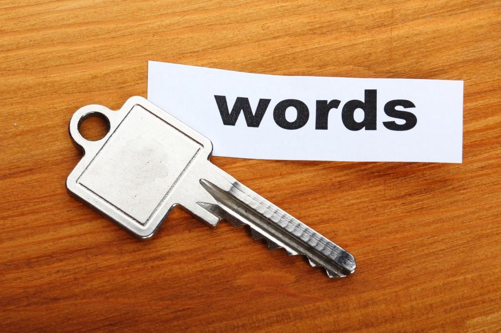 Las palabras claves son una manera divertida de contar algo.