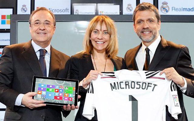 Microsoft y Real Madrid hacen acuerdo para promocionar ambos productos