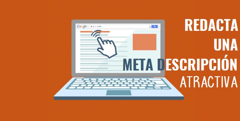 marketing de contenidos, redactar meta descripción, redactar contenidos, posicionamiento seo, ganar tráfico en página web